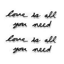 <b>Декоративная надпись Love</b> Is All You Need купить: цена на ...