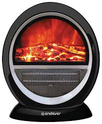 Электрический <b>камин Endever Flame</b>-<b>01</b>, черный - отзывы ...