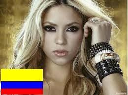 Resultado de imagen de colombia shakira bandera
