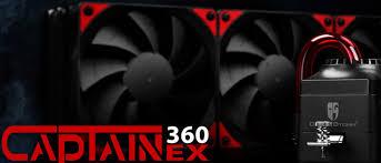Обзор системы жидкостного <b>охлаждения Deepcool</b> Captain 360EX