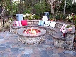 rock patio designs