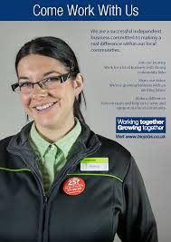 tsc careers the southern co operative a4 new vacancies advert