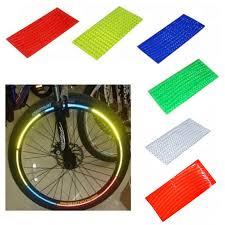 <b>1pc bike</b> reflective Stick Fluorescent MTB <b>Bicycle</b> Sticker <b>Cycling</b> ...