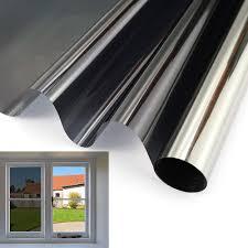 <b>40 by 200 Cm</b> Decor Solar Tint <b>Window Film</b> One Way Mirror Vision ...