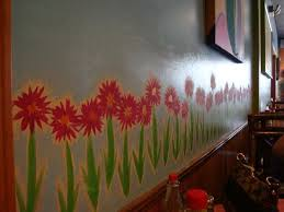 sweet red kitchen wall