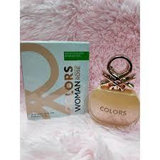 UCB <b>Colors Woman Rose Benetton</b> EDT 80ml | Shopee Philippines