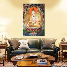 <b>Fashion</b> Tibet <b>Buddhism Wall</b> Hanging Decor Silk Cloth Tara ...