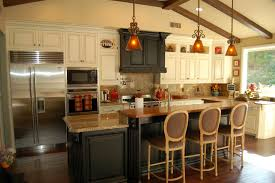 built in kitchen islands