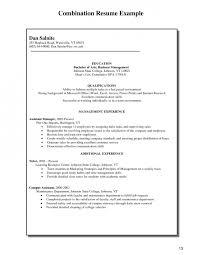 free combination style resume sample large size combination style resume sample