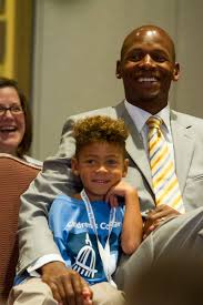 Image result for ray allen with son