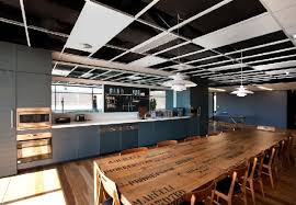 wooden meeting table design and interior for advertising agency leo burnetts sydney office advertising agency office advertising agency