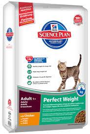 "Сухой <b>корм для кошек Hills</b> ""Feline Adult 1+ Perfect Weight"", 8 кг ..."