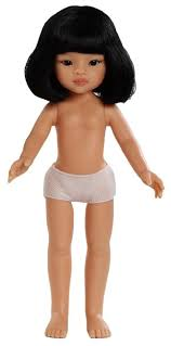 <b>Кукла Paola Reina Лиу</b> с каре без одежды 32 см 14799 — купить ...