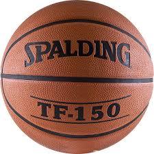 Мячи: <b>Мяч баскетбольный Spalding</b> TF-150, износостойкая резина.