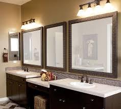 brown framed bathroom mirrors bathroom mirrors