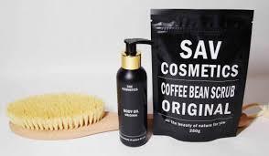 <b>Кофейные скрабы</b> для тела SAV cosmetics от производителя ...
