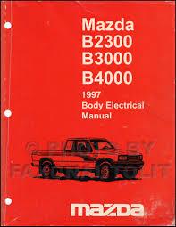 mazda b4000 2001 wiring diagram schematics and wiring diagrams