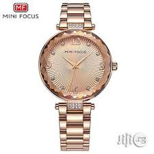 <b>Minifocus</b> Top Brand Luxury <b>Rose Gold</b> Quartz Women Fashion Watch