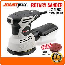 JOUSTMAX JST612501 Random Orbital Sander 250W <b>125mm 5</b> ...