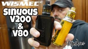 Budget Mods! <b>Wismec Sinuous v200</b> & Sinuous v80 Kits - YouTube