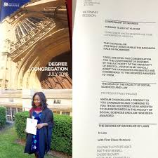 reuben abati s daughter bags first class honours in law from reauben abati daughter