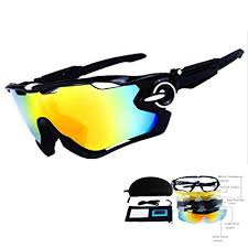 TOPTOJOKLJGDGHJH Men's Sports <b>Cycling Sunglasses</b> Women's ...