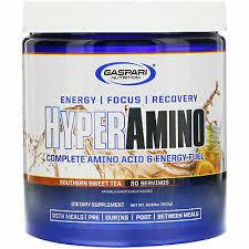 Gaspari <b>HYPERAMINO Complete Amino Acid</b> Energy Fuel 30 ...