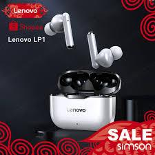 <b>Lenovo LP1 Wireless Bluetooth</b> Earphones Headset Waterproof ...