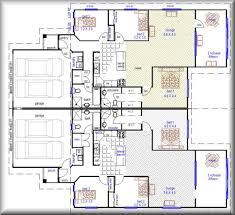 Duplex House Plans   Smalltowndjs comImpressive Duplex House Plans   Duplex House Plans Designs