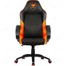 Кресло компьютерное COUGAR <b>Fusion</b> orange | fondim27.ru