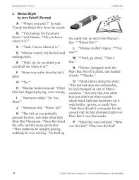 Education World  Education World Work Sheet Library  Critical     Maniac Magee learners will enjoy this prereading activity that gets thinking