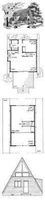 ideas about A Frame Cabin Plans on Pinterest   A Frame Cabin    A Frame House Plan   Total Living Area  sq  ft