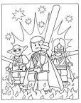 Раскраска лего звездные войны распечатать бесплатно