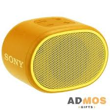 <b>Беспроводная колонка Sony SRS-01</b>, желтая оптом под ...