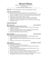 clerk resume exles sample resume seangarrette coresume no job resume templates nursing unit clerk resume design professional accounting clerk resume no experience accounts payable clerk