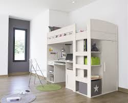cool children girls bedroom interior design contain graceful loft bed with desk bedroomcaptivating comfortable office
