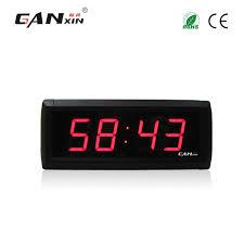 [<b>Ganxin</b>]Wholesale 1.8<b>inch</b> 4Digits Led DIY Clock <b>Modern</b> Design ...