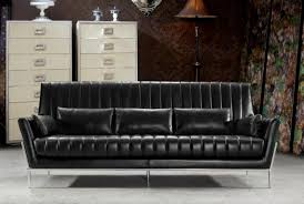tyrion divani casa luxury black leather sofa set bedroomravishing aria leather office