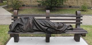 'Homeless Jesus' <b>sculpture</b> goes viral after 911 call