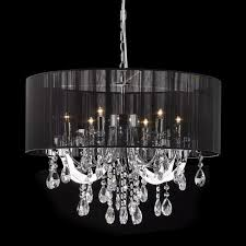 black chandelier lighting. monet lights u0026 reflections c8880d 6 light modern elegance chandelier at atg stores black lighting
