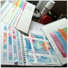 Image result for textile sketchbook pages