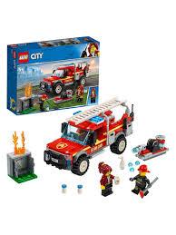 <b>Конструктор LEGO City</b> 60231 <b>Грузовик</b> начальника пожарной ...