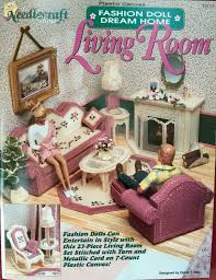 plastic canvas barbie fashion doll furniture living room plastic canvas patterns for barbie dolls barbie furniture patterns