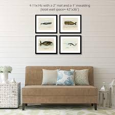 whale art print painting bathroom decor coastal  whale art poster set nautical art beach zoom