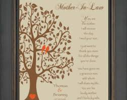 wedding gifts for mother in law – Etsy via Relatably.com