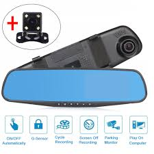 <b>4.3 Inch Car Dvr</b> Rearview Mirror Full HD 1080P Auto Recorder ...