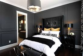 awesome black and white bedroom with double night lamp and modern chandelier amazing bedroom awesome black