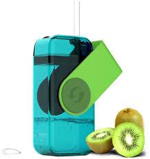 "<b>Бутылка</b> Asobu ""<b>Juicy drink</b> box"", цвет: зеленый, 290 мл"