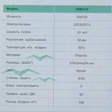 <b>Сушилка для рук</b> электрическая Neoclima NHD-2.0 в Москве ...