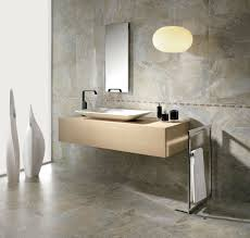 floating vanity with chic vessel bathroom vanity mirror pendant lights glass